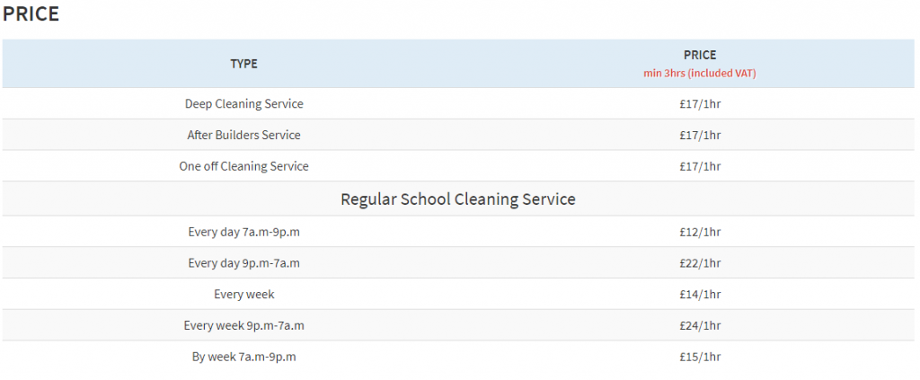 School-cleaning-service-prices